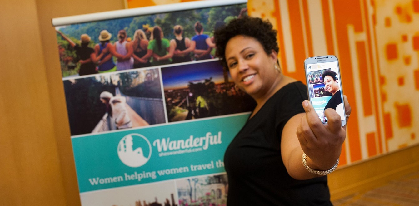 Cha at Women in Travel Summit by Wanderful