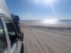 never ending white beaches
