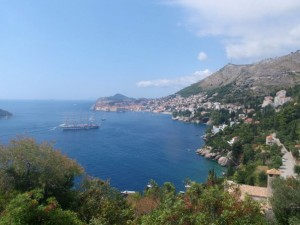 The stunning Dubrovnik
