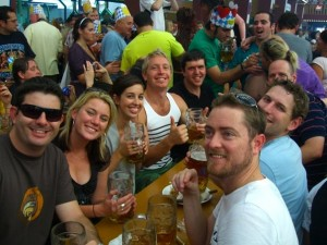 The friends who tipped us off on how to do Oktoberfest the right way