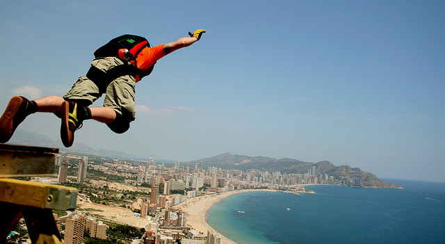 Base Jumping [credit: santimolina]