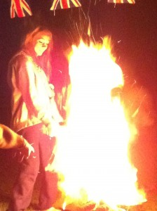 Big fires: Fun, but maybe not for everyone...