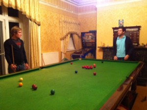 Do you have billiards room? Because we did...