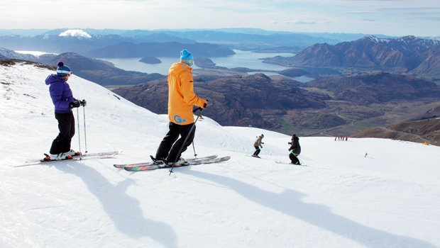 Treble Cone at Lake Wanaka. Photo from www.newzealand.com.