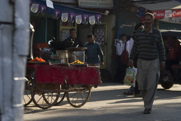Kashmiri food cart