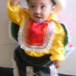 "My Colombian ""nephew"" practicing for his first Carnaval"
