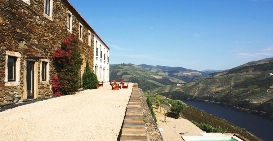 Quinta da Veiga views over the Douro Valley