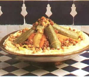 Couscous Beldi (seven vegetables) Image courtesy of www.moroccoembassybangkok.org