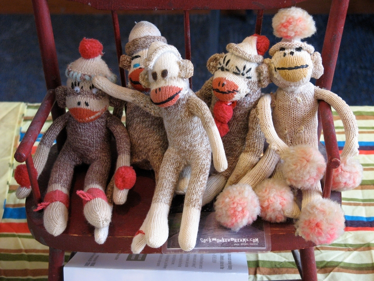 Fun fact: Rockford, Illinois is the home of the sock monkey.