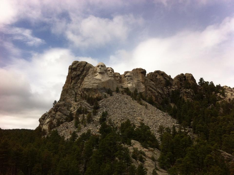Passing by Mt. Rushmore