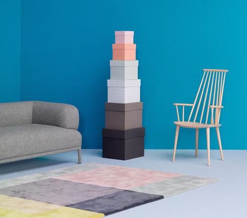 Danish Modern furniture at Hay in Aarhus.  Photo via hay.dk