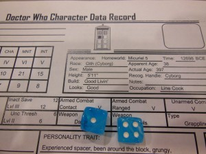 Another great way to socialize?  RPGs!  And there are pretty dice.