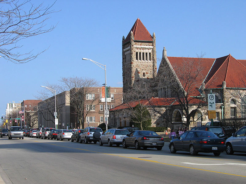 Oak Park's Lake Street. From the wikicommons.