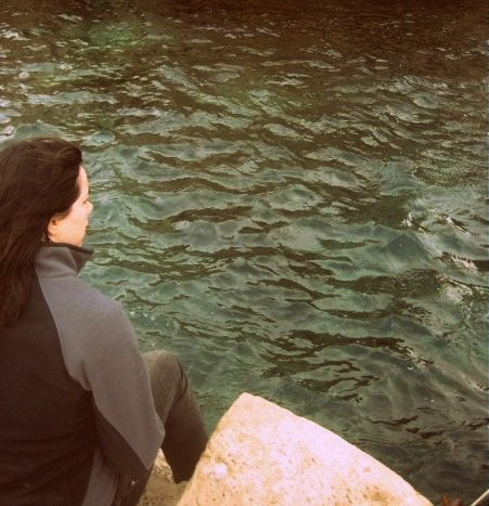 Being introspective in Dubrovnik, Croatia. Photo courtesy of Kayti Burt.
