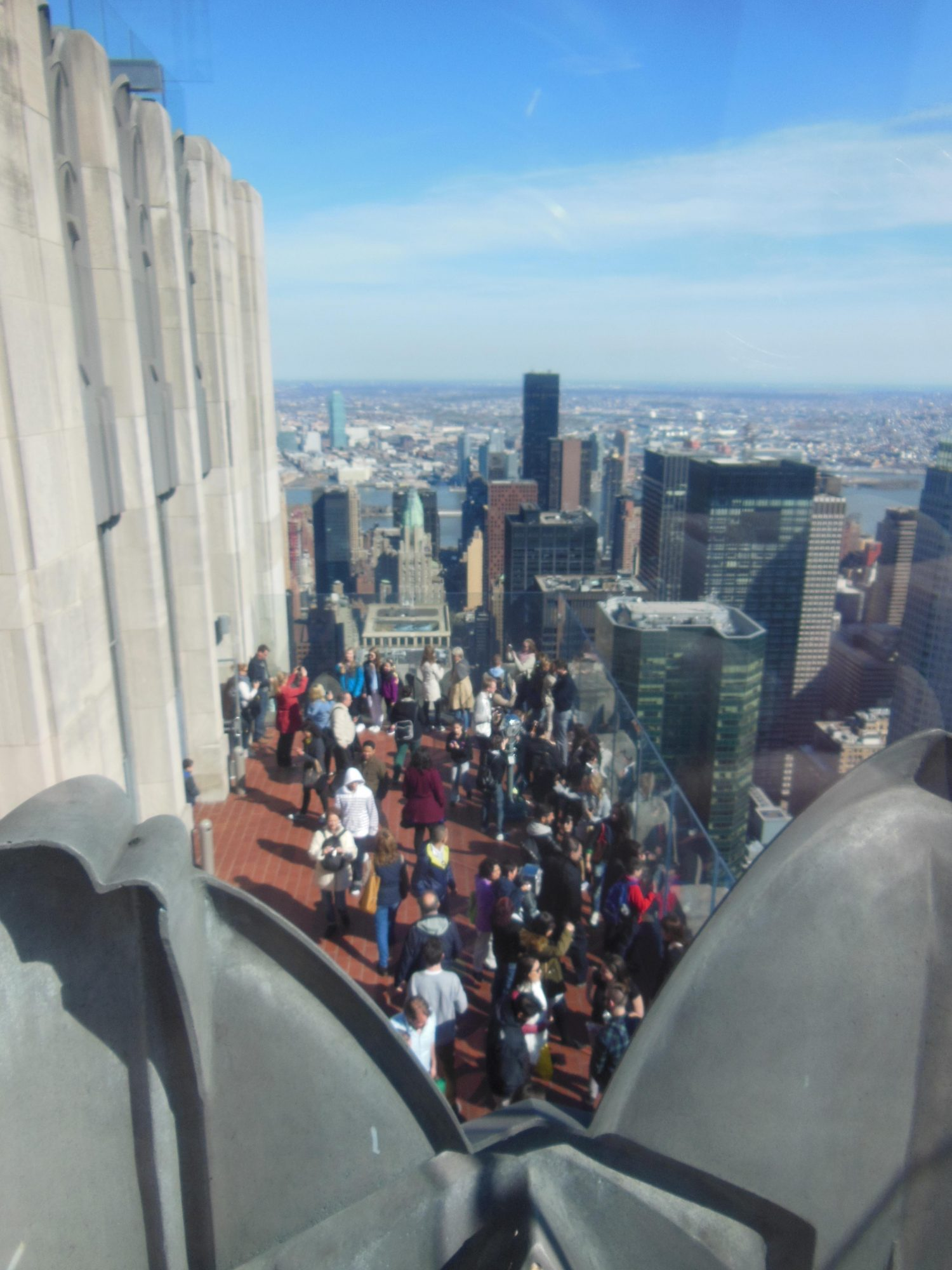 Top of the Rock: beautiful view, but not so fun of an experience after all.