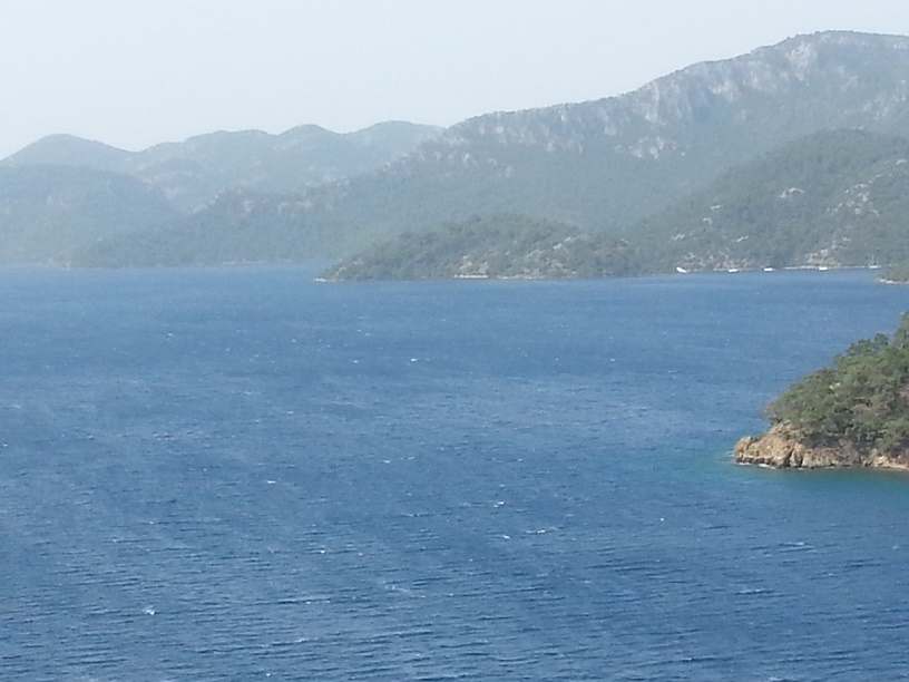 Mediterranean Sea with the Mediterranean Delights Fitness voyage, photo by Erica of Go Girl Travel Network
