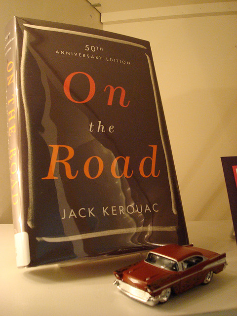 On The Road by Jack Kerouac, a contestant for the #GoGirlReads book club
