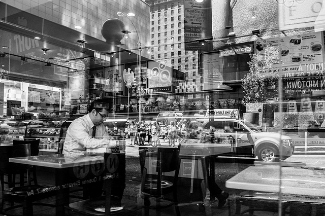 A good view helps provide something to look at while dining. Image by Flickr user Jim Pennucci.