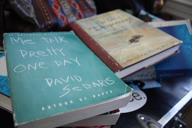 Me Talk Pretty One Day by David Sedaris, contestant in the #GoGirlReads book club