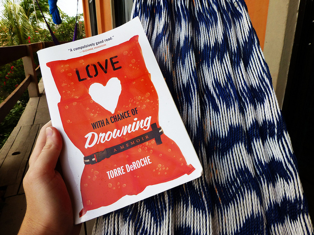 Love with a Chance of Drowning by Torre DeRoche, a contestant for the #GoGirlReads book club