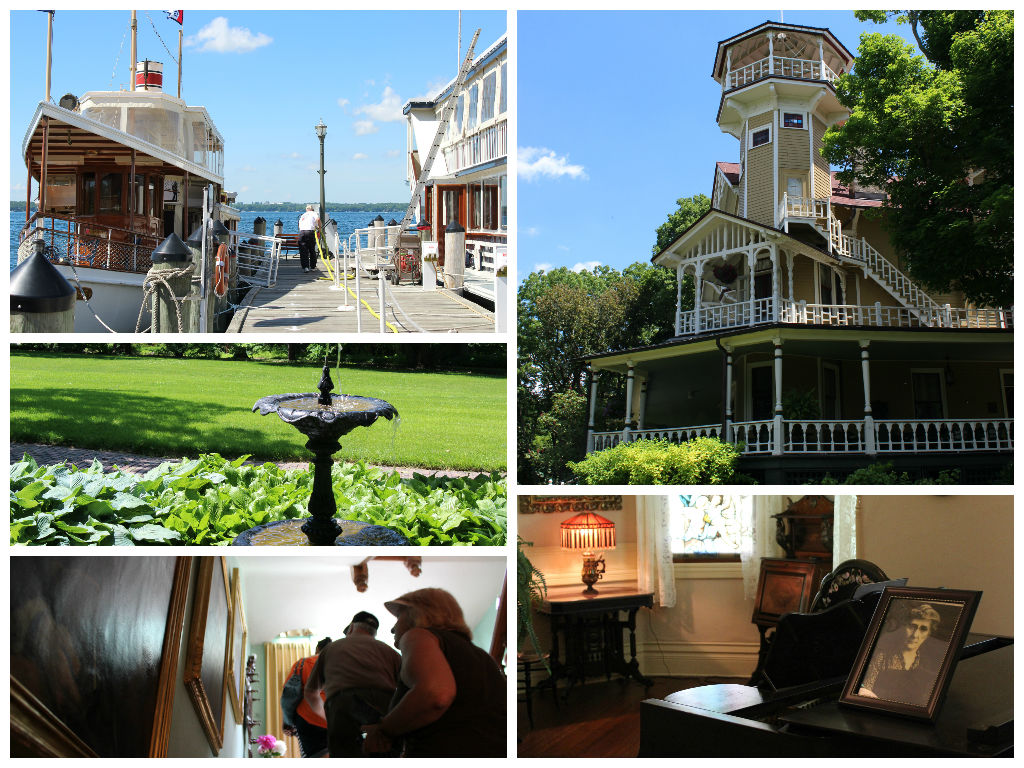 The Black Point Estate tour with Lake Geneva Cruise Line