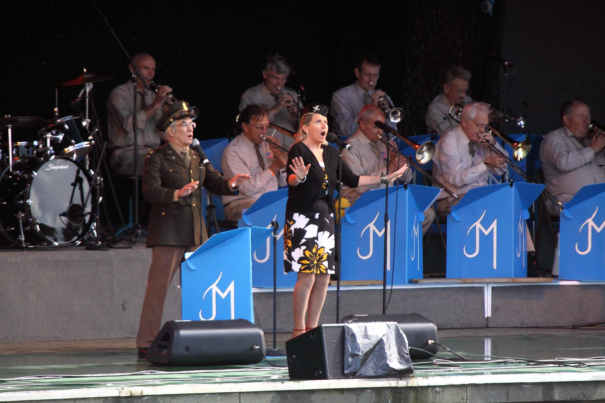 The John Miller Orchestra performing at 2010 Twinwood. Image from Wikimedia Commons.