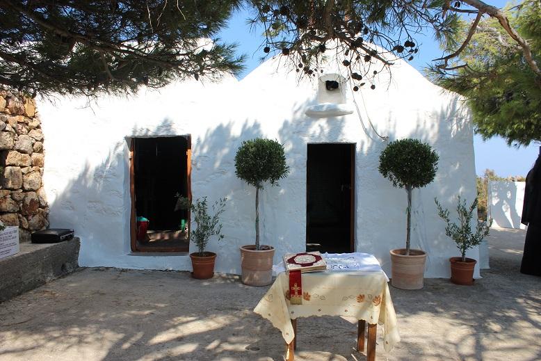 St Demetrios Chapel in in Patmos, Greece
