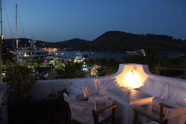 Art Cafe in Patmos, Greece