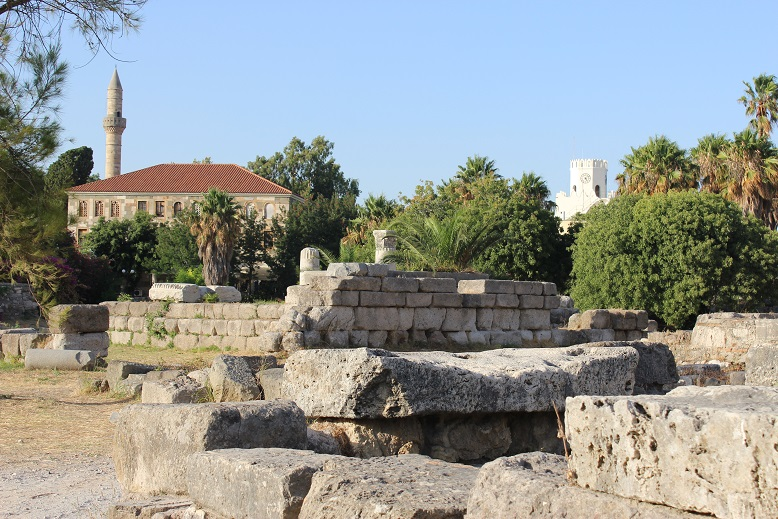 Ruins in Kos, Greece by Go Girl Travel Network