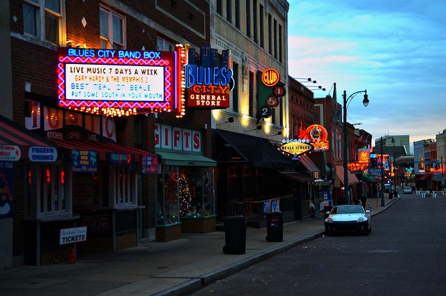 Beale Street, blues