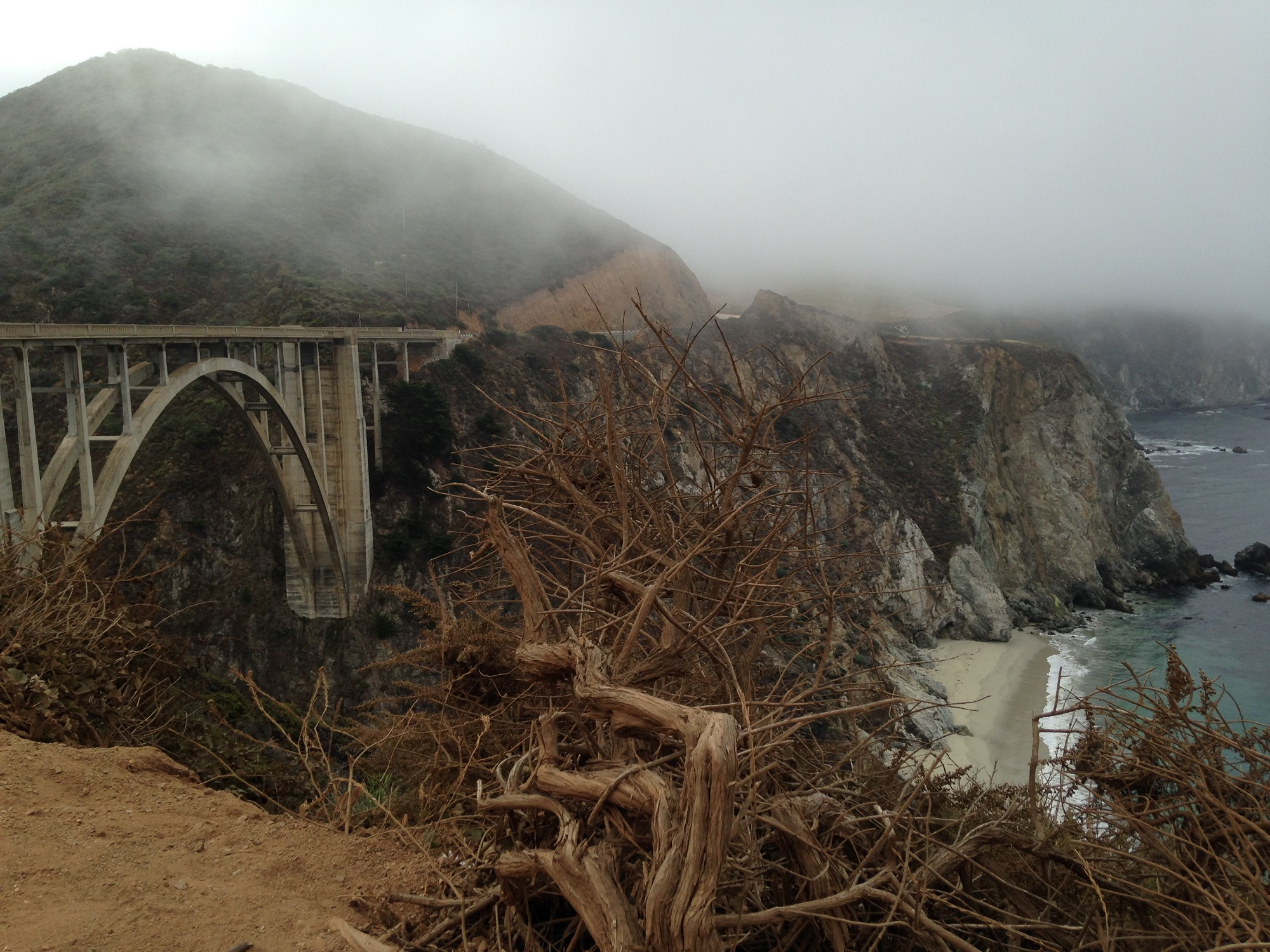 Bixby Bridge, Highway 1, California, road trip