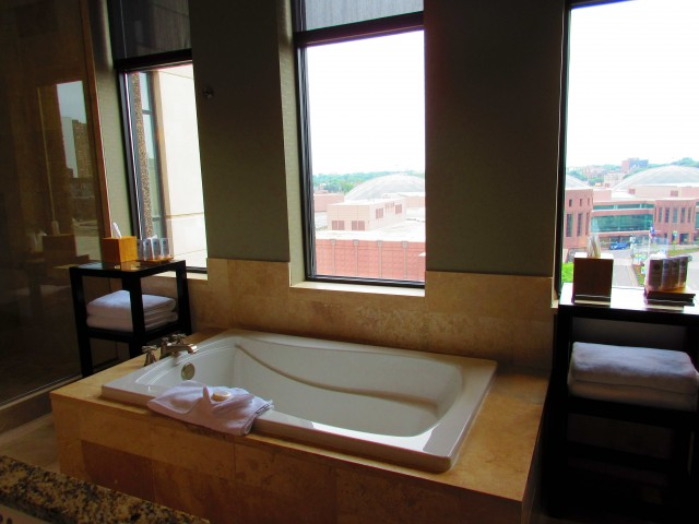 $3,000 a night for this tub; that's luxury travel!