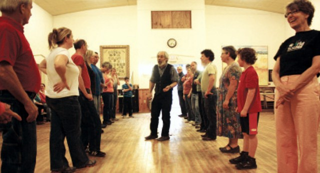 Contra dance, New England, introvert, Franconia
