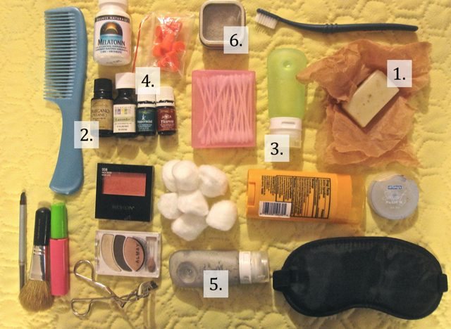 DIY Travel packing list