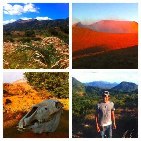 volcano-Telica campsite
