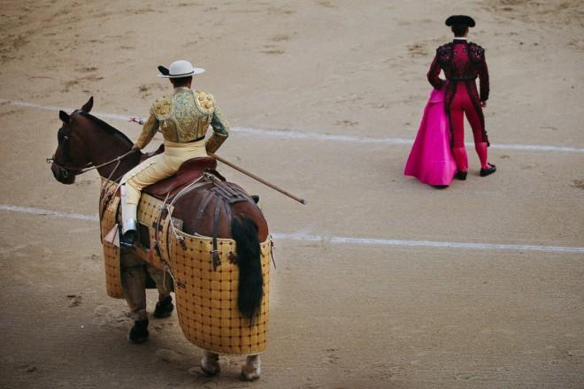 Spanish-bullfighting
