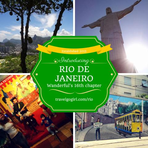Rio de Janeiro announcement