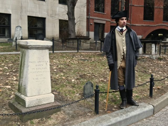 freedom trail tour and paul revere