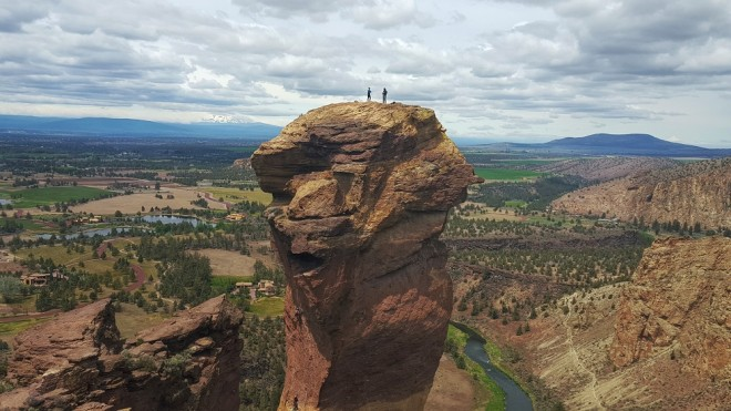Monkey Face at Smith Rock, Oregon. Photo by Beth Santos of Wanderful