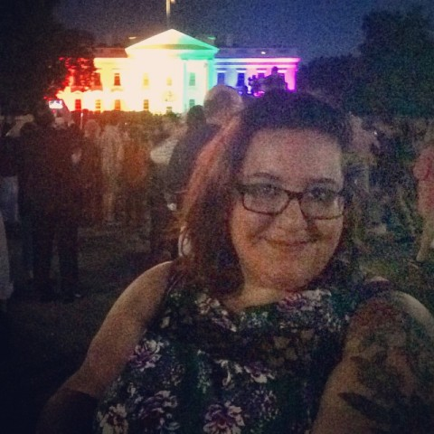 In D.C. for the Supreme Court's marriage equality decision, because of course I was. Image courtesy of Ariel Goldberg.