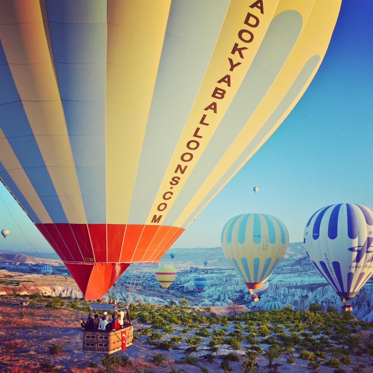 Cappadocia, Turkey Photo: Lesley Ames, BonViage