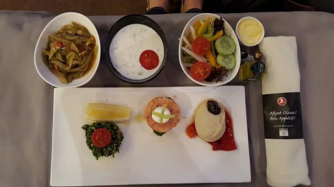 Turkish airlines cuisine