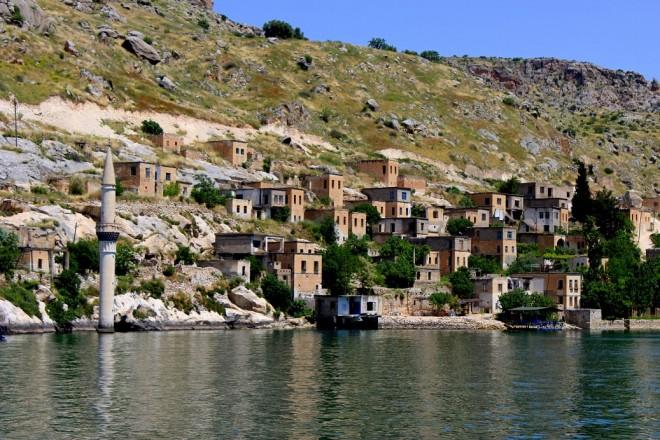 Euphrates River in Turkey
