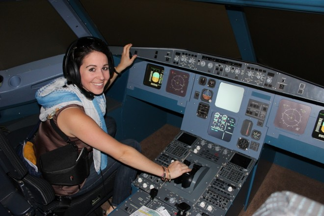 Piloting a Turkish Airlines plane!