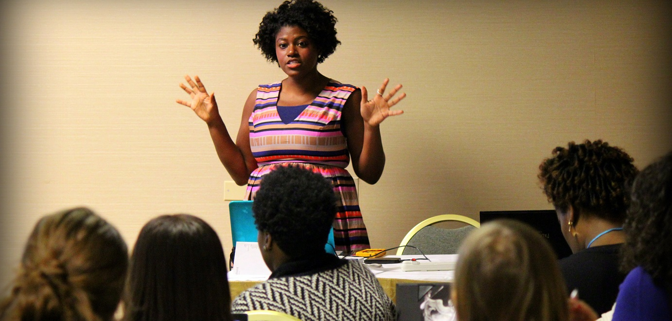 Bayyina Black at the Women in Travel Summit