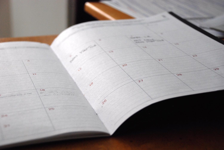 wanderful calendar
