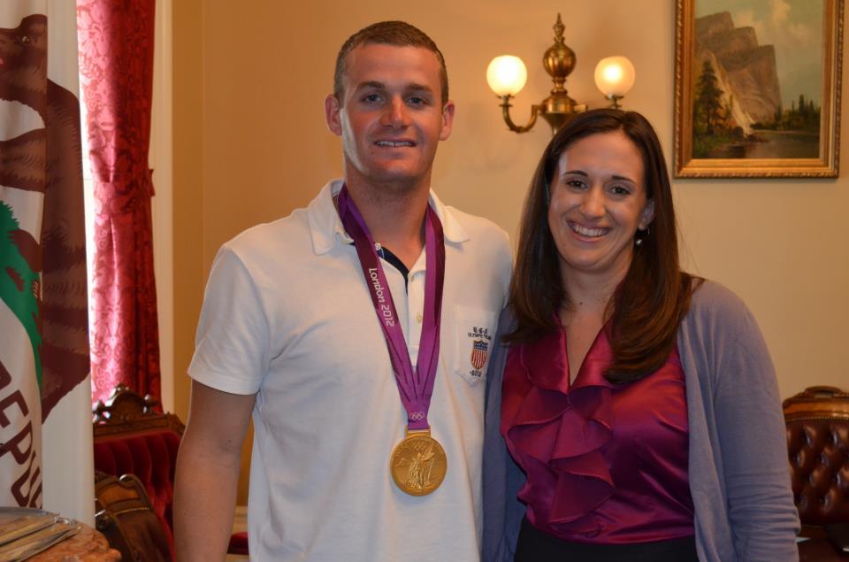 Tyler Clary gold medalist megan macnee olympics wanderful