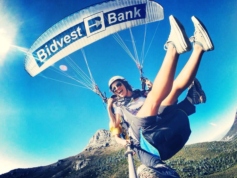 lissa morales reverse culture shock paragliding lions head