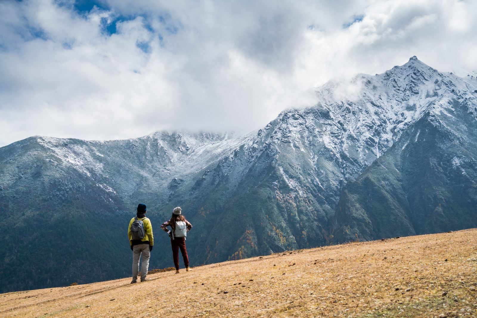 trekking in Bhutan. Photo by Alex Reynolds of Lost With Purpose.