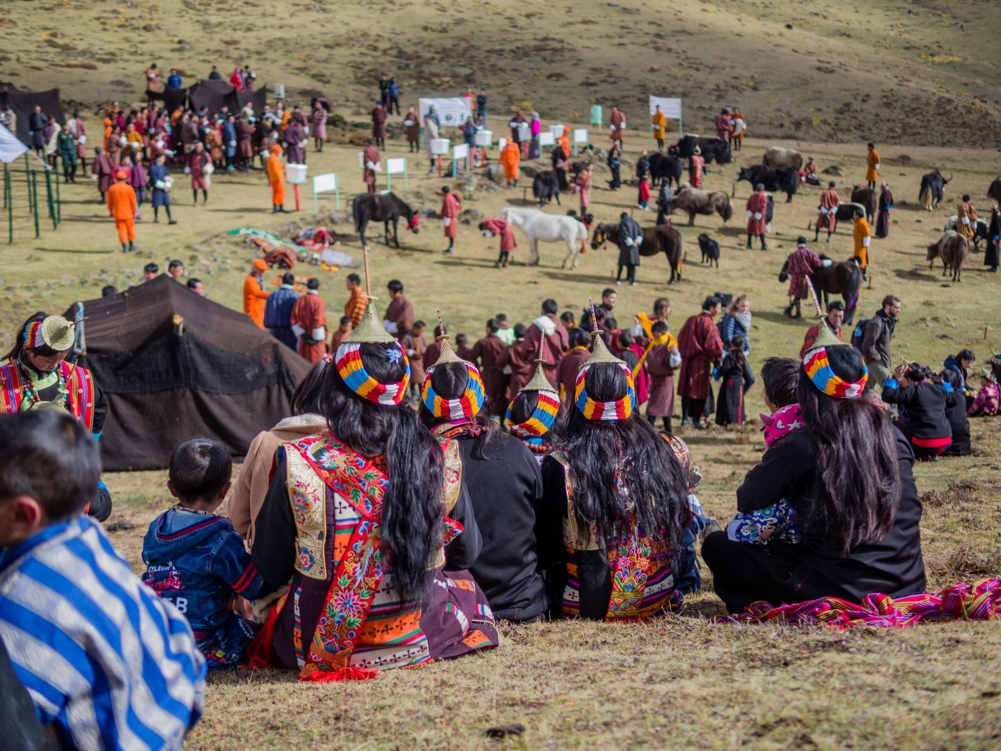 Royal Highlander Festival, Bhutan. Photo by Anubha Momin.